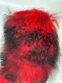 Унты лама красные
