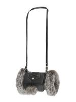 Муфта-сумка чернобурка