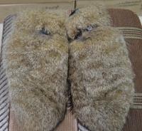 Рукавицы камышовая рысь, внутри овчина