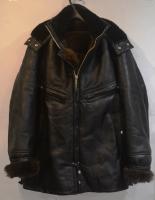 Морской пилот кожаный (куртка подводника)