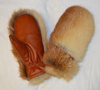 Рукавицы лиса, внутри лиса