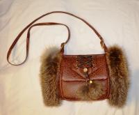 Муфта-сумка лиса