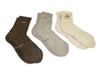 Носки 100 % верблюжья шерсть или шерсть яка, двухслойные