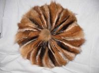 Подушка из лапок лисы, диаметр 500 мм